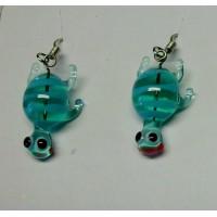 Želvičky aqua zelená