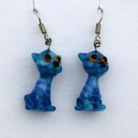 Kočky modrá