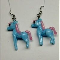 Koníci modrá