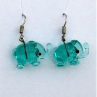 Sloni aqua zelená